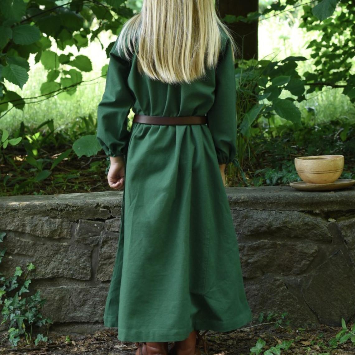 Kinderjurk Matilda, groen