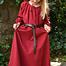 Kids dress Matilda, red