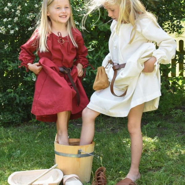 Barn klänning Matilda, röd