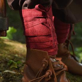 envolturas de las piernas para los niños, rojo