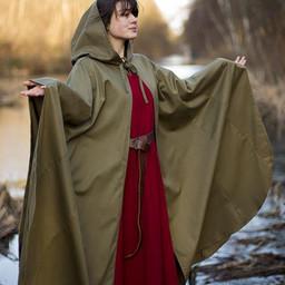 Medieval cloak Terrowin, green