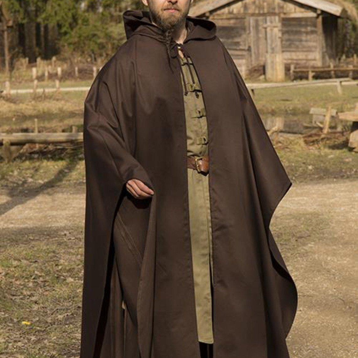 Epic Armoury Manto Medieval Terrowin, Marrón
