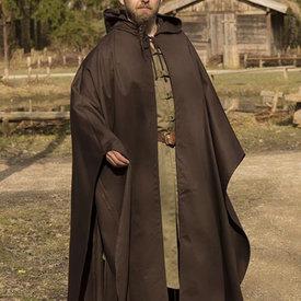 Epic Armoury Średniowieczny płaszcz Terrowin, brązowy