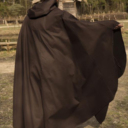 Medeltida kappa Terrowin, brun
