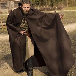 Średniowieczny płaszcz Terrowin, brązowy