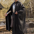 Epic Armoury Mittelalterlicher Mantel Terrowin, schwarz