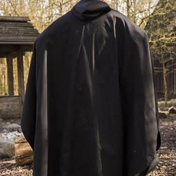 Medieval cloak Terrowin, black
