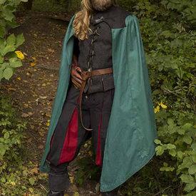 Epic Armoury Płaszcz Tirion zielono-czarny