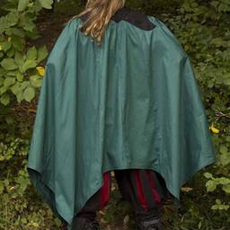 Płaszcz Tirion zielono-czarny