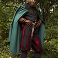 Epic Armoury Umhang Tirion grün-schwarz
