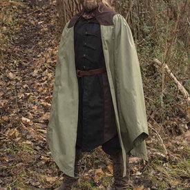 Epic Armoury Płaszcz Tirion zielono-brązowy
