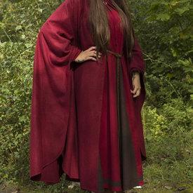 Epic Armoury czerwony płaszcz z wełny podróżnych