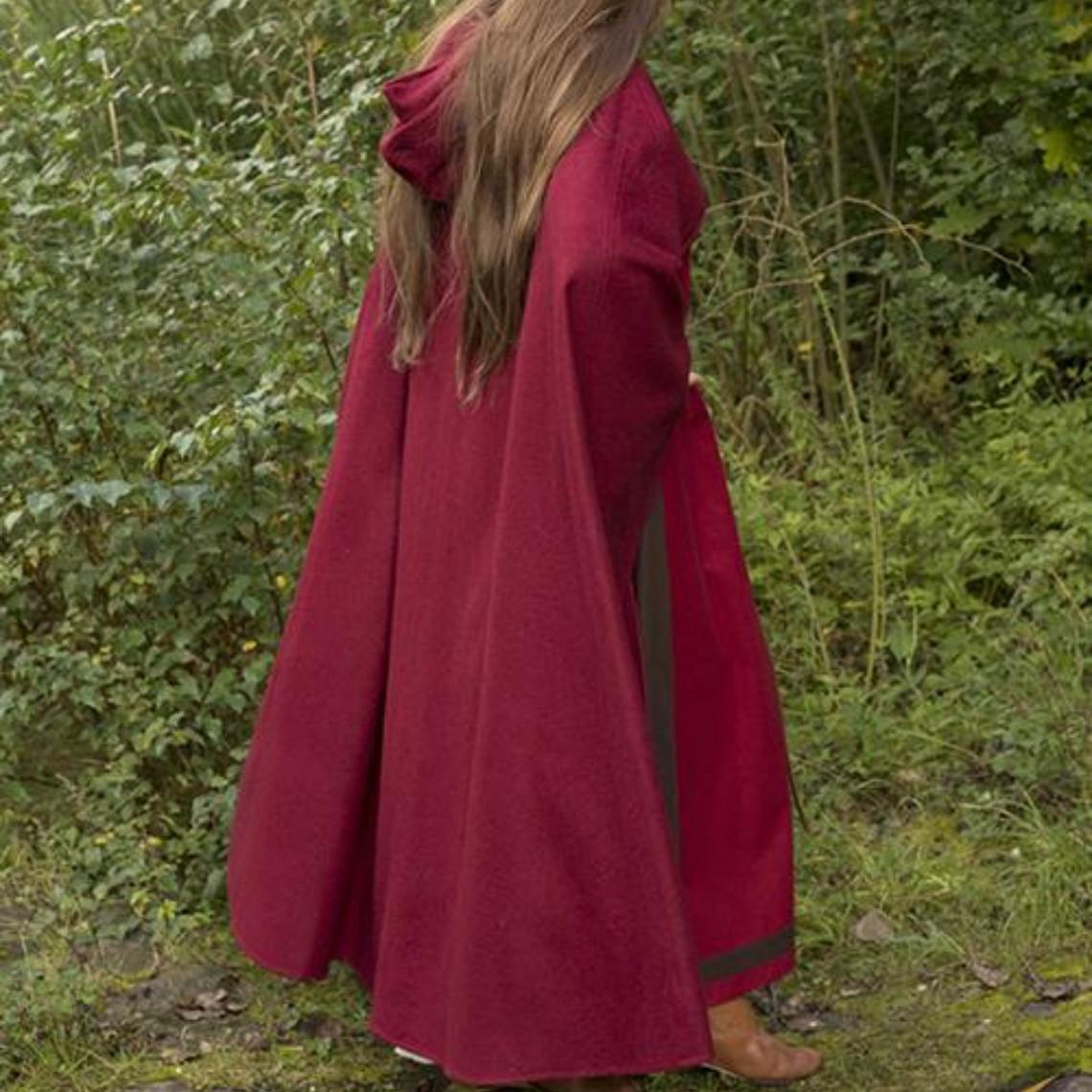 Epic Armoury Wollen reismantel rood