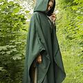 Epic Armoury Wollen reismantel groen