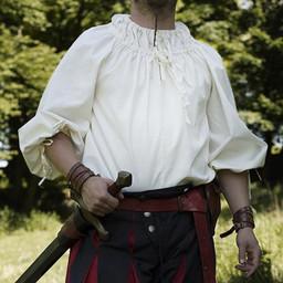 Renaissance Hemd Cosimo, weiß