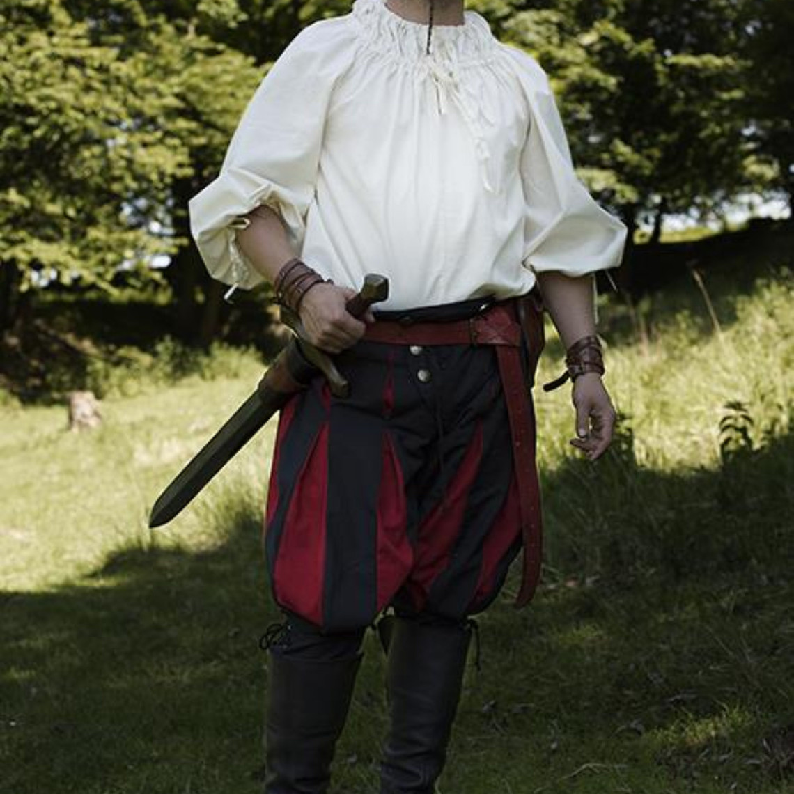 Epic Armoury Renesansowa koszula Cosimo, biała