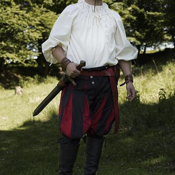 Epic Armoury Renæssance-shirt Cosimo, hvid