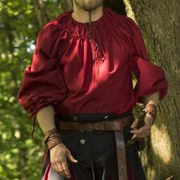 Renaissance Hemd Cosimo, rot