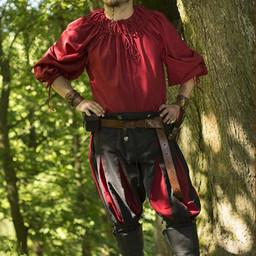 Renaissance shirt Cosimo, red