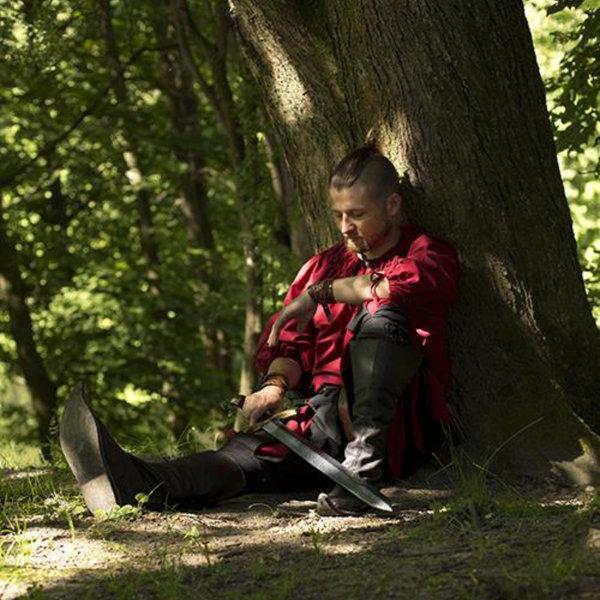 Epic Armoury Renæssance-shirt Cosimo, rød