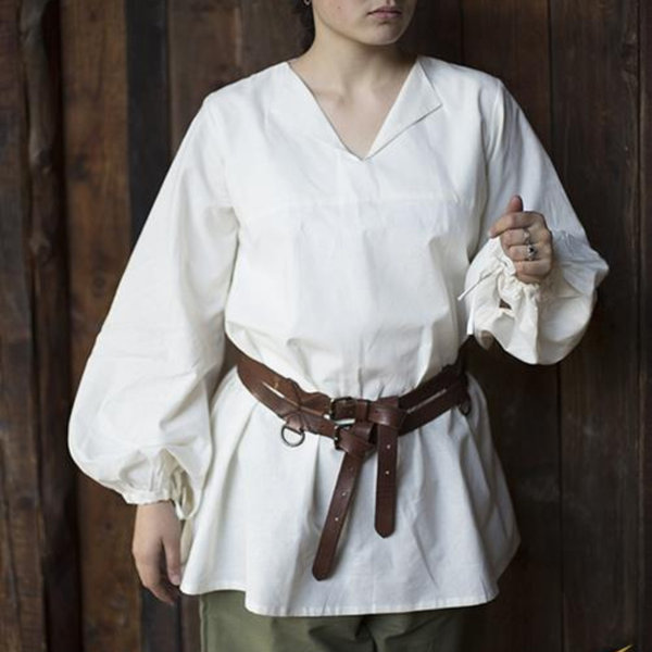Epic Armoury Renässansskjorta Luca, vit