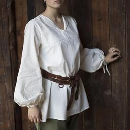 Renaissancehemd Luca, wit