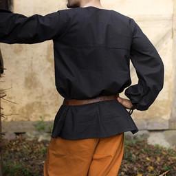 Renaissancehemd Luca, zwart