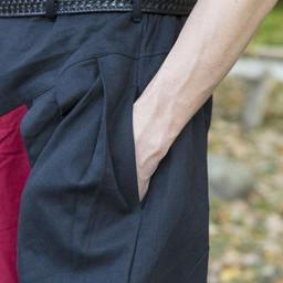 Renaissance trousers Raphael, red-black