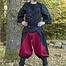 Epic Armoury Renässansbyxor Raphael, röd-svart