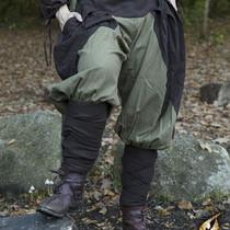 Epic Armoury Pantaloni rinascimentali Raffaello, marrone-verde