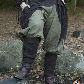 Epic Armoury Renesansowe spodnie Raphael, brązowo-zielone