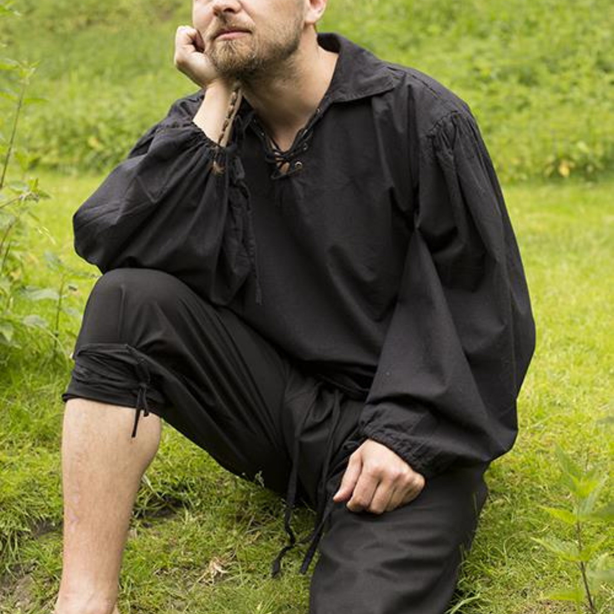 Onderbroek (braies), zwart