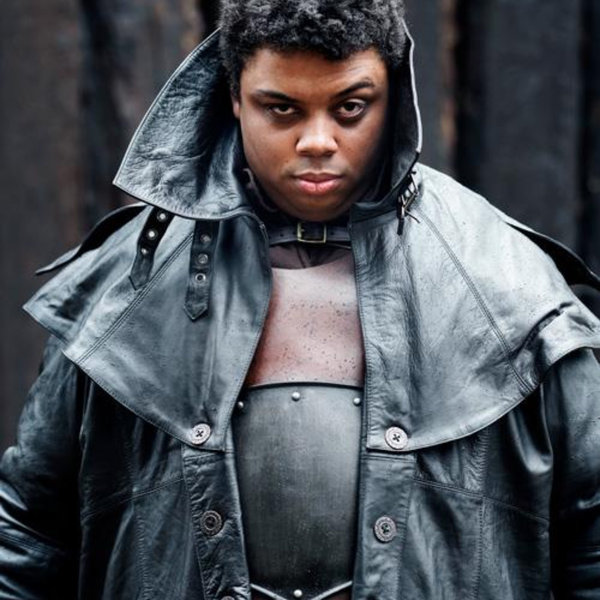Epic Armoury Cappotto di pelle Hellsing, nero