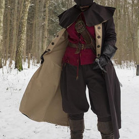 Epic Armoury Cappotto Hellsing, marrone scuro