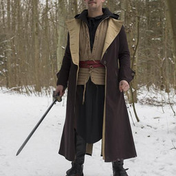 Coat Hellsing, dark brown