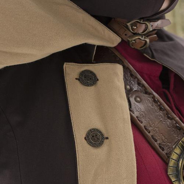 Epic Armoury Frakke Hellsing, mørkebrun