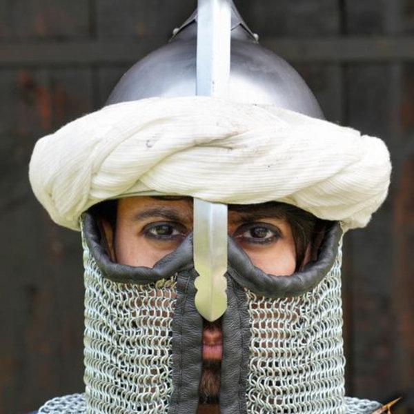 Epic Armoury Persiska turban, off-white