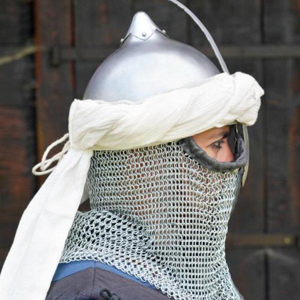 Epic Armoury Persiske turban, råhvid