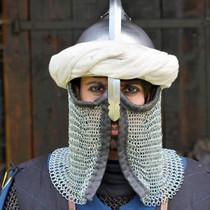 Epic Armoury Perzische tulband, gebroken wit