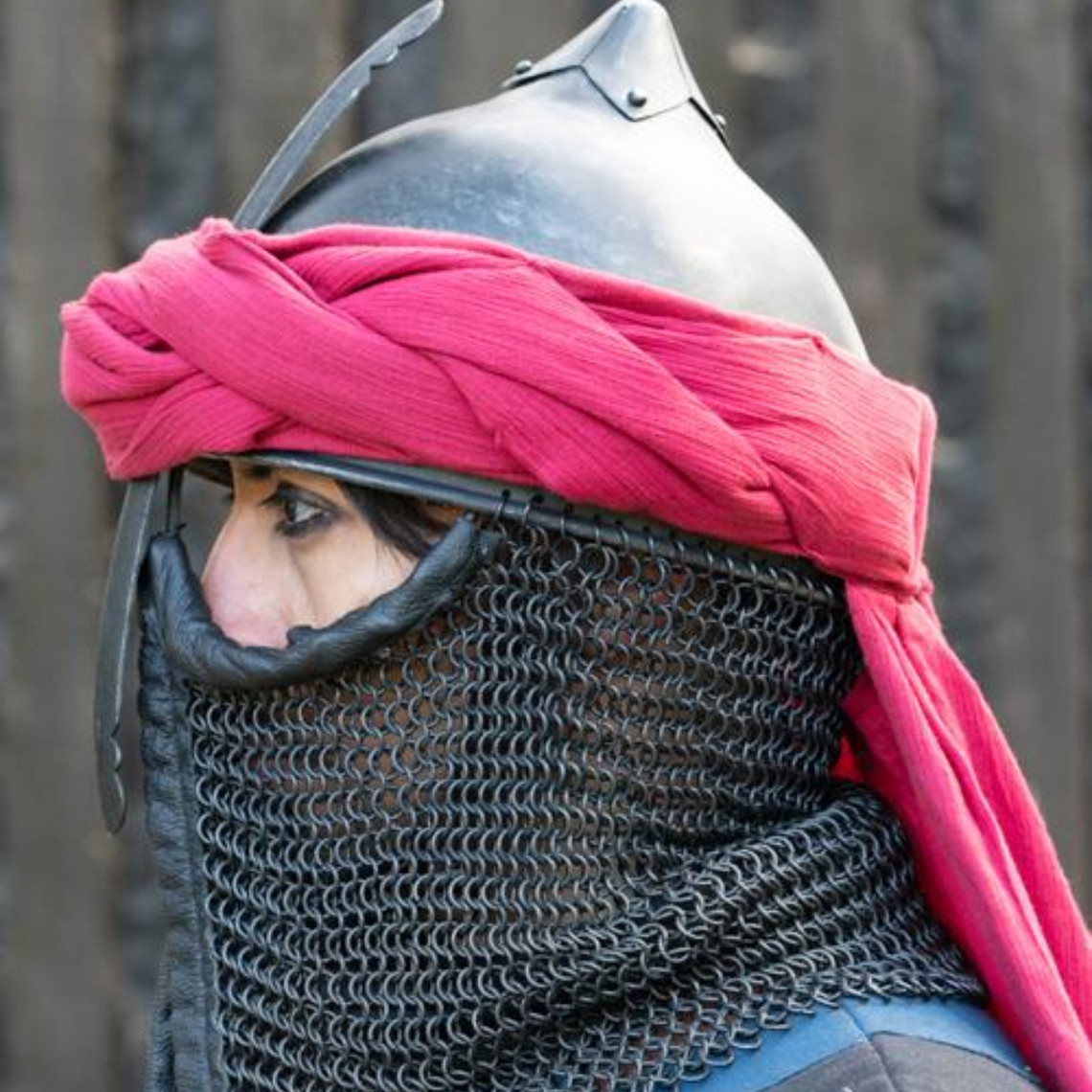 Epic Armoury turbante persa, rojo