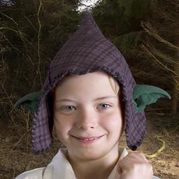 Hood with goblin ears