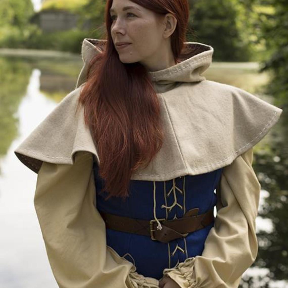 Epic Armoury Chaperon médiéval Erhard, beige