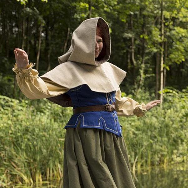 Epic Armoury Medieval chaperon Erhard, beige