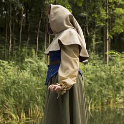 Medieval chaperon Erhard, beige