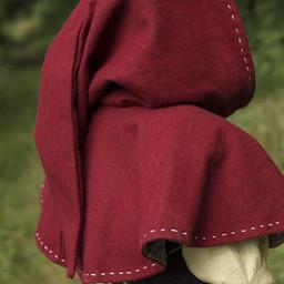 Chaperon médiéval Erhard, rouge