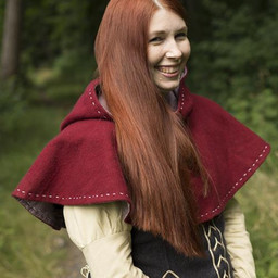 Medieval chaperon Erhard, red