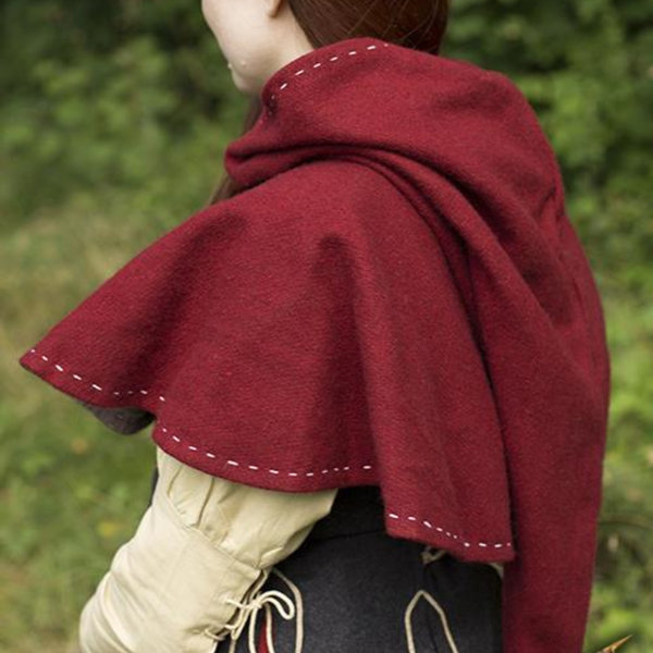 Epic Armoury Medieval chaperon Erhard, red