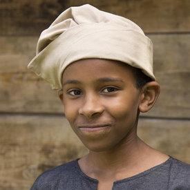 Epic Armoury Wenecka czapka dla dzieci, beżowa