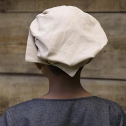 Gorra veneciana para niños, color beige.