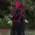 Epic Armoury Capuche Assassins Creed, rouge